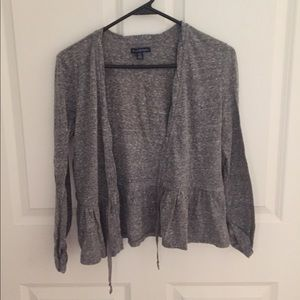 American Eagle grey cardigan/shawl